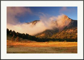 October Flatirons by yenom