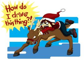 How NOT to Drive a Reindeer by tazsaints