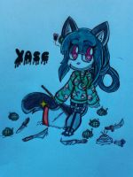 Yase the cat by Niut-LilJazzy