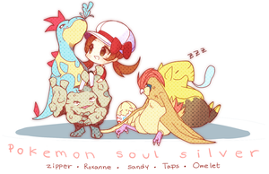 Soul Silver Nuzlocke by Steamed-Bun