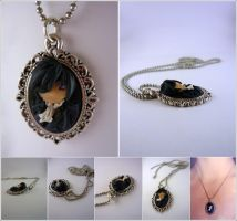 Ciel Phantomhive pendant by Elaiss-in-iceland