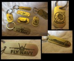 Fly Navy by creativeetching