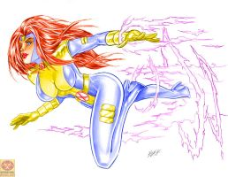 Jean Grey - Classic by MrLively