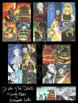 Dr. Who and the Daleks for Unstoppable Cards by Marker-Mistress