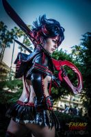 Ryuko Matoi Cosplay: I Will Wipe My Own Tears by Khainsaw
