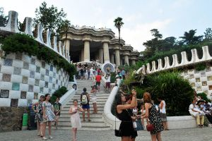 Park Guell 1 - Barcelona by wildplaces