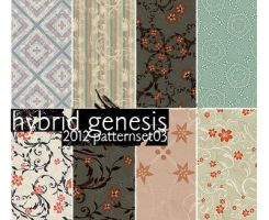 2012 HG Pattern Set 03 by In5omn1ac