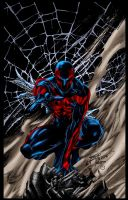 Spider Man 2099 by MarcBourcier