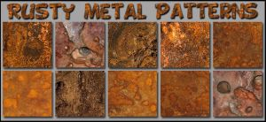 Rusty Metal   Patterns Ps  by Photos-Loutche