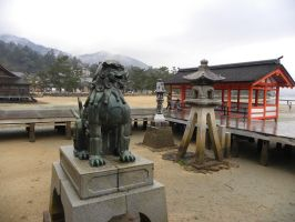 Itsukushima Shrine by RiverKpocc