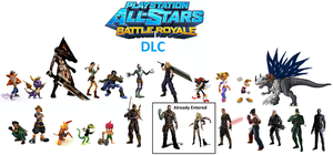 PlayStationAllStarsBattleRoyale DLC by firenamedBob