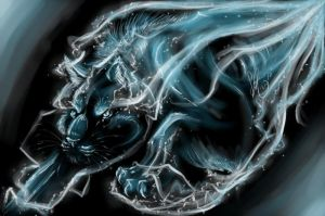 Feline Patronus by Bean-Sprouts