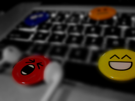 Emoticon Buttons by AbhishekGhosh