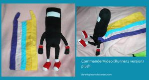 CommanderVideo (Runner2 version) Plush by DonutTyphoon