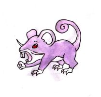 Rattata by Hunchdebunch