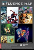 Influence Map of Me by shayde1