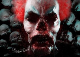 Zombie Clown H by Shapula