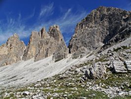 Mountains - Tre Cime by Sergiba