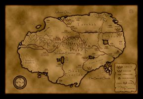 The Island of Tereden by LeonaWindrider