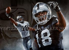 NFL OAKLAND RAIDERS RANDY MOSS by cgfelker