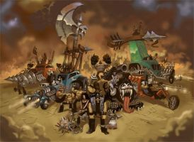 The IRONHEAD-E ARMY by The-Architetcer