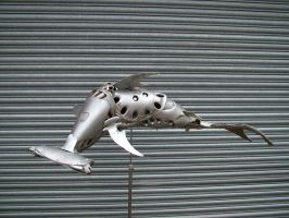 Hammerhead Shark by HubcapCreatures