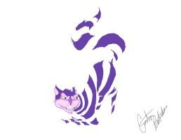 Cheshire Cat1 by Cristy83eb