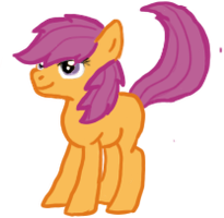 Scootaloo by RakshaWw