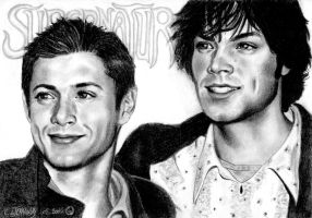 Jensen and Jared by Someone-Else79
