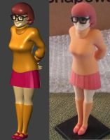 3D Velma - render and print by JusticeDude