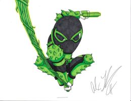 Green Lantern Flash Venom by toonartist