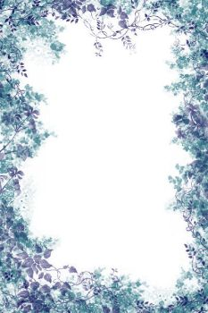 Floral Blue by anaika-night