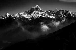 Himalaya in India by Miztliyuma