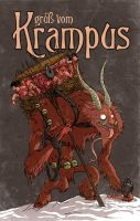 Grub Vom Krampus by Douglasbot
