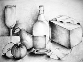 still life 3 by dr4wing-pencil