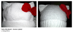 Hello Kitty Beanie v. 1 by Stitch-Happy
