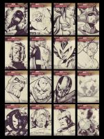 MM 2 smore sketch cards by Shadowgrail