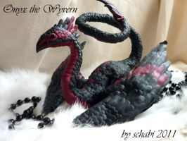 Onyx the wyvern by Schiraki