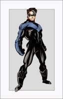 Nightwing Card by alephart