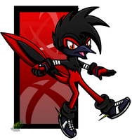 Red the Roadrunner by SonnieJaye