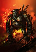 Orc Peon by richard-chin