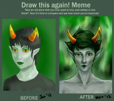 Draw this again: Kanaya by IAreTehFluffyOne