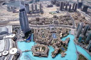Dubai Burj Khalifa Top View 01 by GiardQatar
