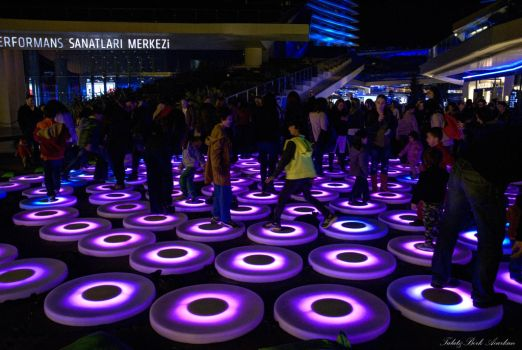 ISTANBUL LIGHT  FESTIVAL by mecengineer