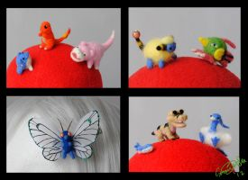 Pokemon Felties