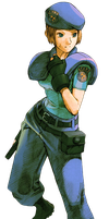 Jill Valentine-Marvel vs Capcom 2 PNG 2 by Isobel-Theroux