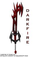 Keyblade - Darkfire by ZeroRaptor