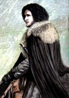 GoT: Jon Snow by freshberries