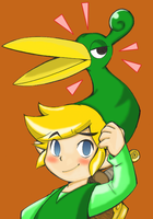 Minish Cap Link by KaoriNeco