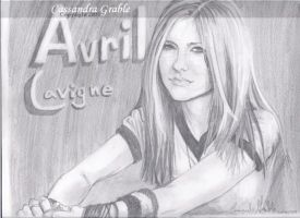 Avril Lavigne by DarkGirlDrawings